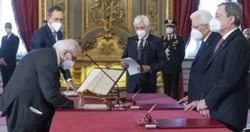 ARTICOLO 26: CONGRATULAZIONI E BUON LAVORO AL MINISTRO BIANCHI