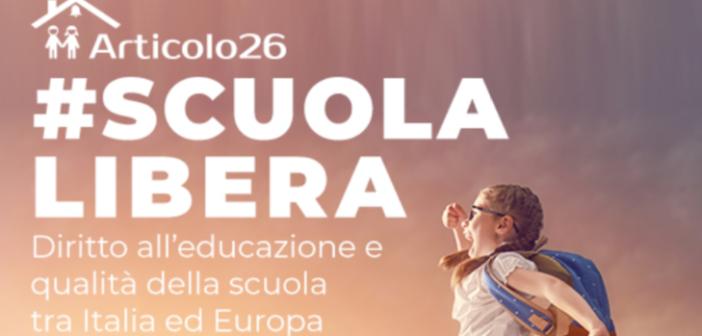 #SCUOLA LIBERA Diritto all'educazione e qualità della scuola tra Italia ed Europa – 10 aprile 2019 – Camera dei Deputati (Sala del Refettorio)